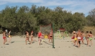 Beachový kemp v Itálii